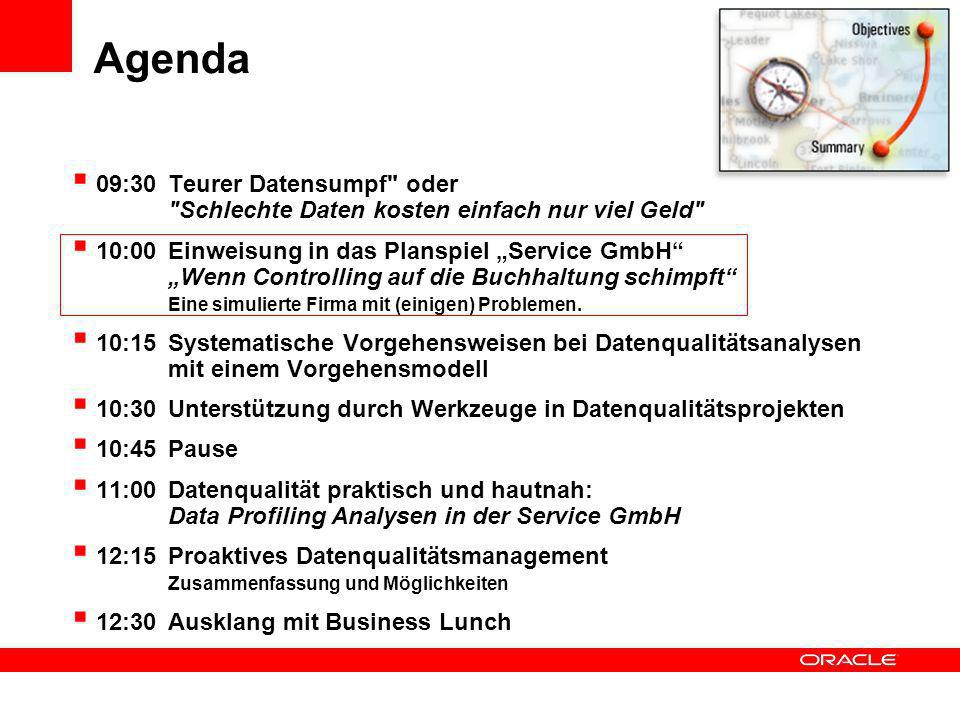 Die S ERVICE GmbH Fallbeispiel