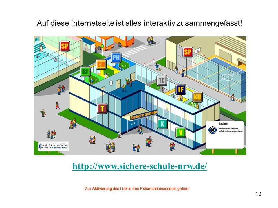 20 Verordnung zum Schutz wildlebender Tier- und Pflanzenarten (Bundesartenschutzverordnung - BArtSchV) http://www.bna-ev.de/bna_inhalt/gesetze/naturschutz/bartschv_d.htm Gesetz über Naturschutz und Landschaftspflege § 20 http://bundesrecht.juris.de/bundesrecht/bnatschg_2002/ Tierschutzgesetz § 1, 2, 3, 4, 7, 9, 10 http://bundesrecht.juris.de/bundesrecht/tierschg/ Bundesgesetze Grundgesetz http://www.datenschutz-berlin.de/recht/de/gg/ Richtlinien der KMK http://www.uksh.de/de/praevention/druckschriften.php Zur Aktivierung der Links in den Präsentationsmoduls gehen.