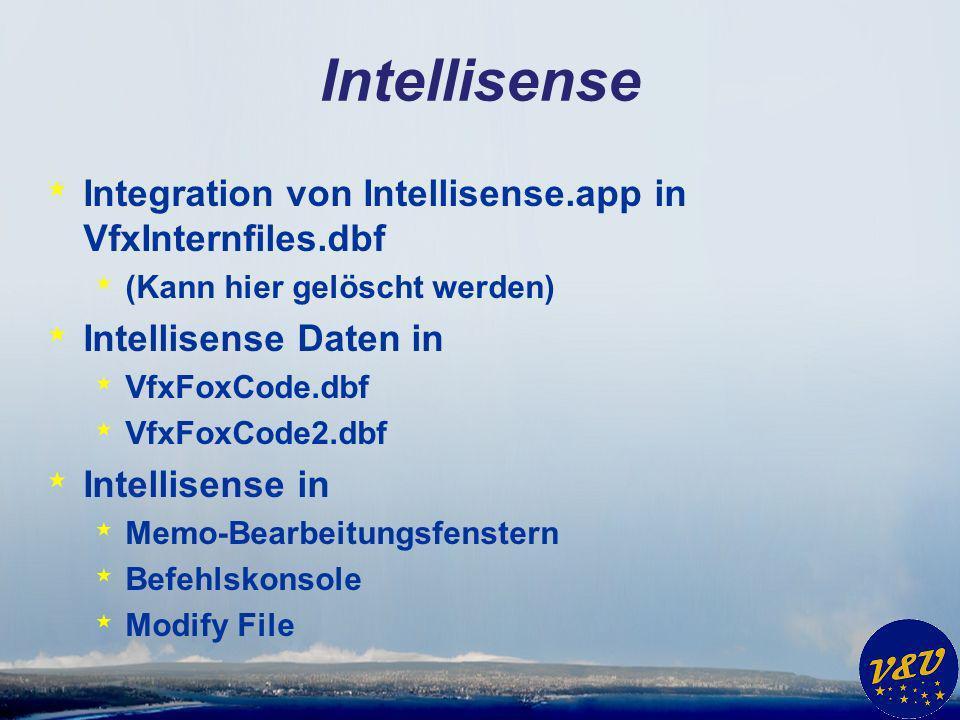 Multifunktionsleiste * Themes Support * Blau * Schwarz * Einstellbar im Anpassen-Dialog je Benutzer * Neue Seite Fenster