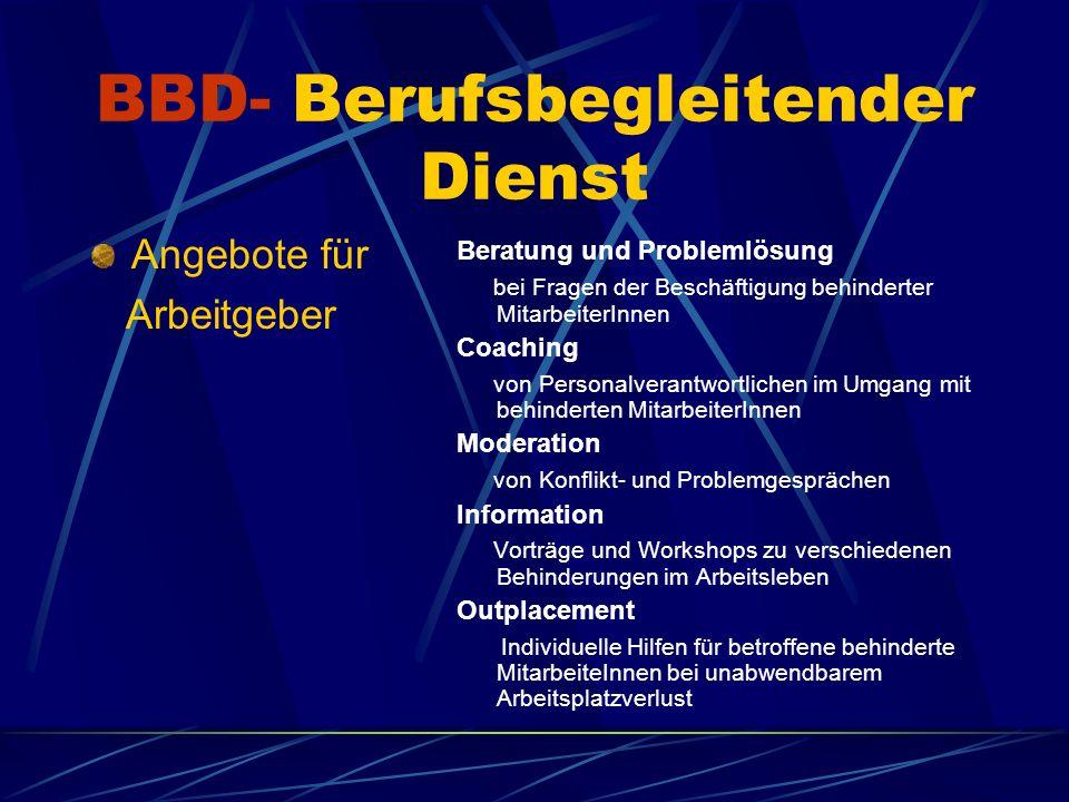 BBD- Berufsbegleitender Dienst Was kostet das.Und wie nehme ich Kontakt auf.