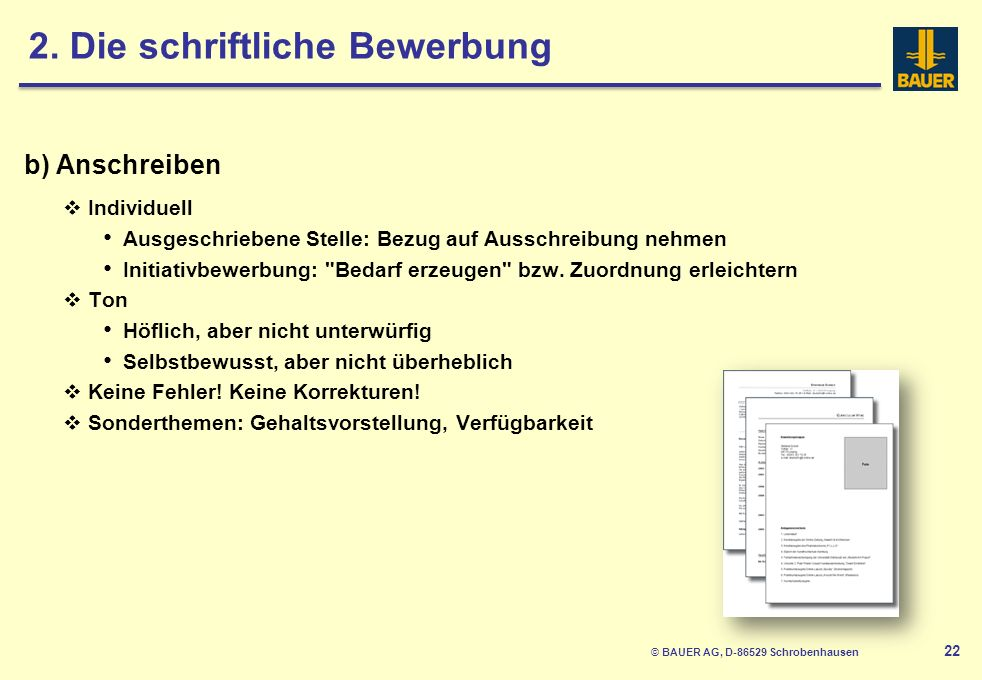 © BAUER AG, D-86529 Schrobenhausen 23