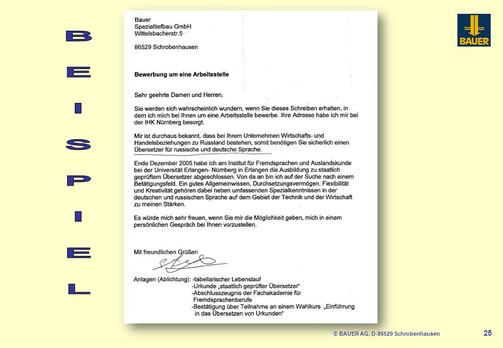 © BAUER AG, D-86529 Schrobenhausen 26