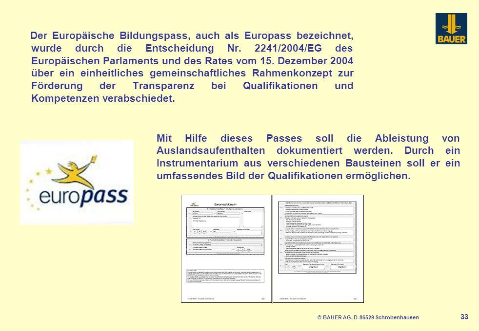 © BAUER AG, D-86529 Schrobenhausen 34