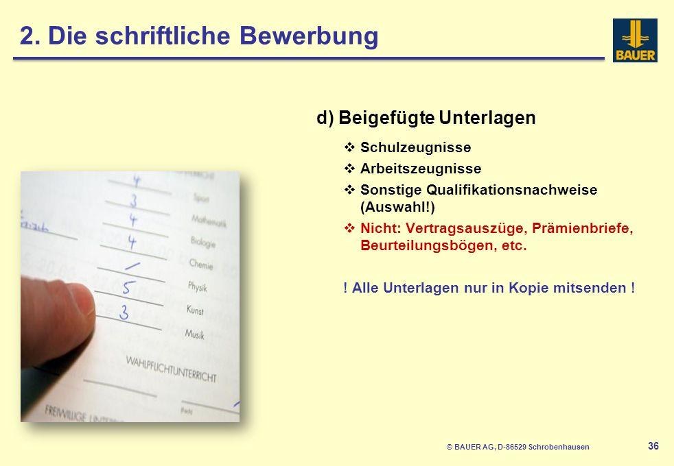 © BAUER AG, D-86529 Schrobenhausen 37