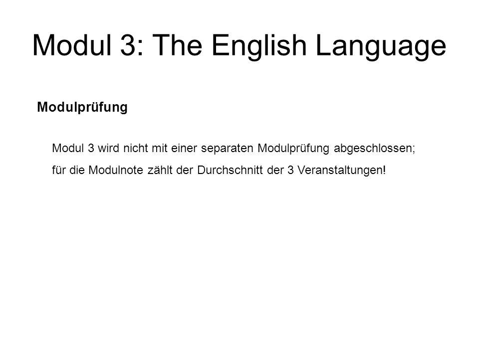Modul 4: English Language Skills 401) Integrated Foundation Course (IFC) wird jedes Semester angeboten 4-stündig.