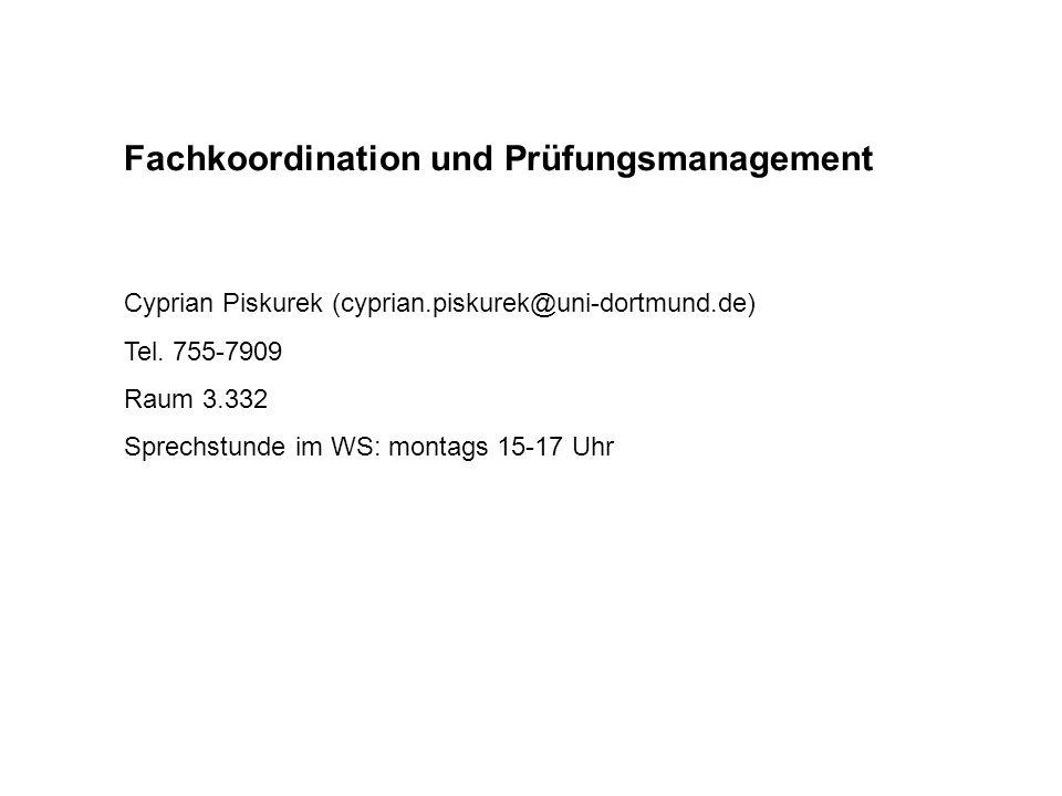 Beratungsteam BML (Peter Osterried, Angelika Schram, Wiebke Hein) Raum 3.333 (EF 50) Sprechstunden WS 2009/10: montags 13-14 mittwochs 12-14 freitags 12-14, 16-17 Sprechstunden diese Woche: freitags 10-14 und zu den Fachschaftsangeboten