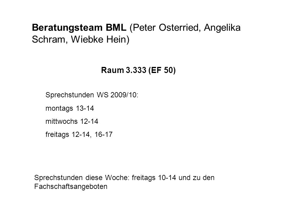 Studienbuch Anglistik/Amerikanistik BfP Kernfach: dunkles pink BfP Komplementfach: helles pink BvP Komplementfach: helles grün BrP Komplementfach: blau