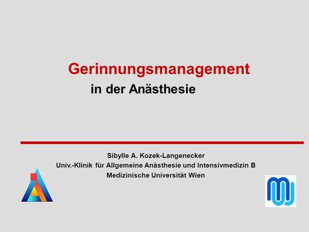 Gerinnungsmanagement