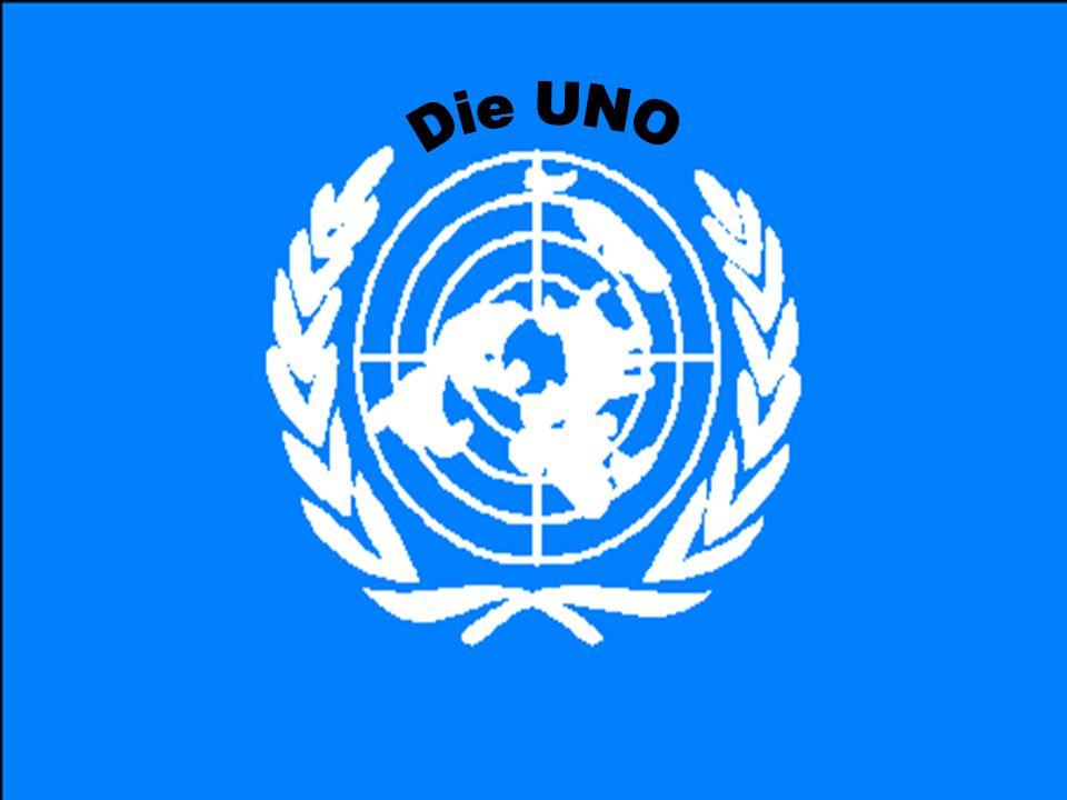 UNO ist die Abkürzung der englischen Wörter: United Nation Organisation In Deutschland spricht man von den VN: Vereinigte Nationen In Österreich von der UNO oder der UN Die Abkürzung UNO