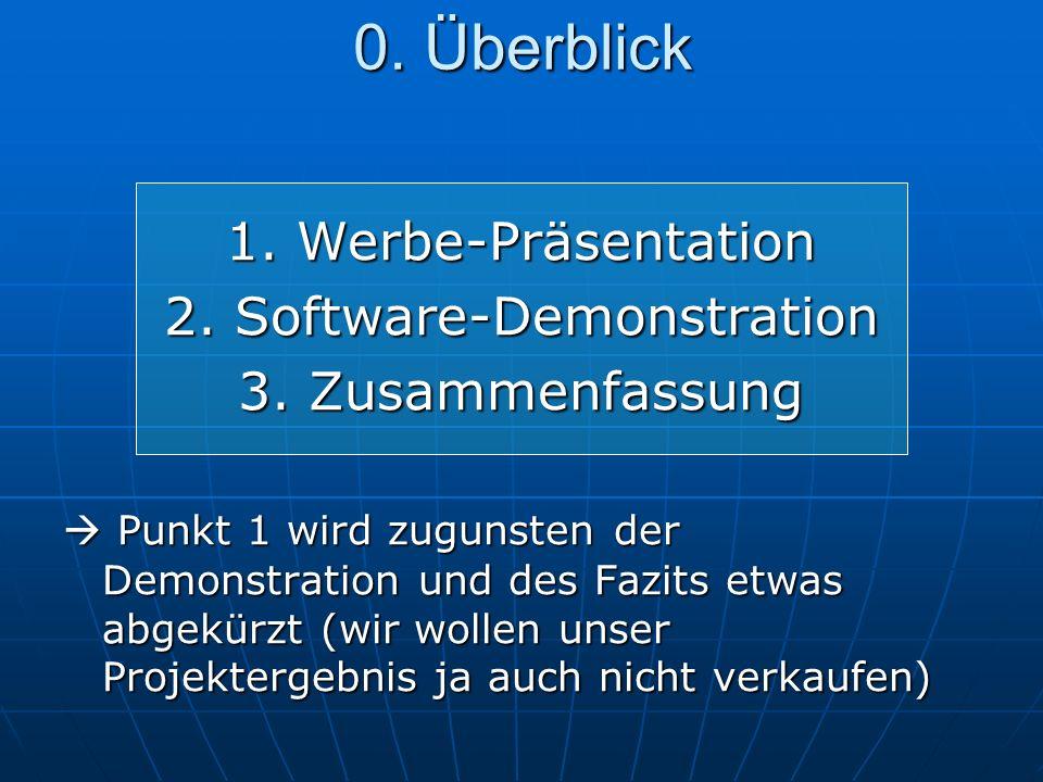 1. Werbe-Präsentation