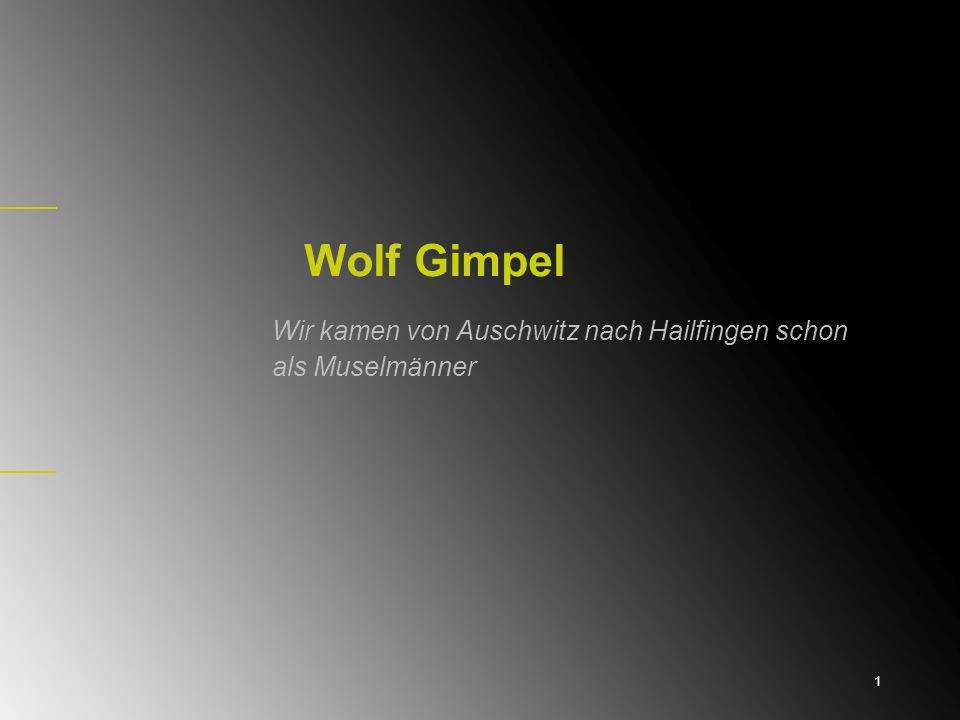 Im Ghetto Lodz Wolf Gimpel wurde am 10.7. 1921 in Bełżyce/Izbica in Polen geboren.