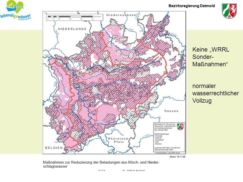 Bezirksregierung Detmold IHK3. Juni 2009 optimieren anpassen untersuchen beraten