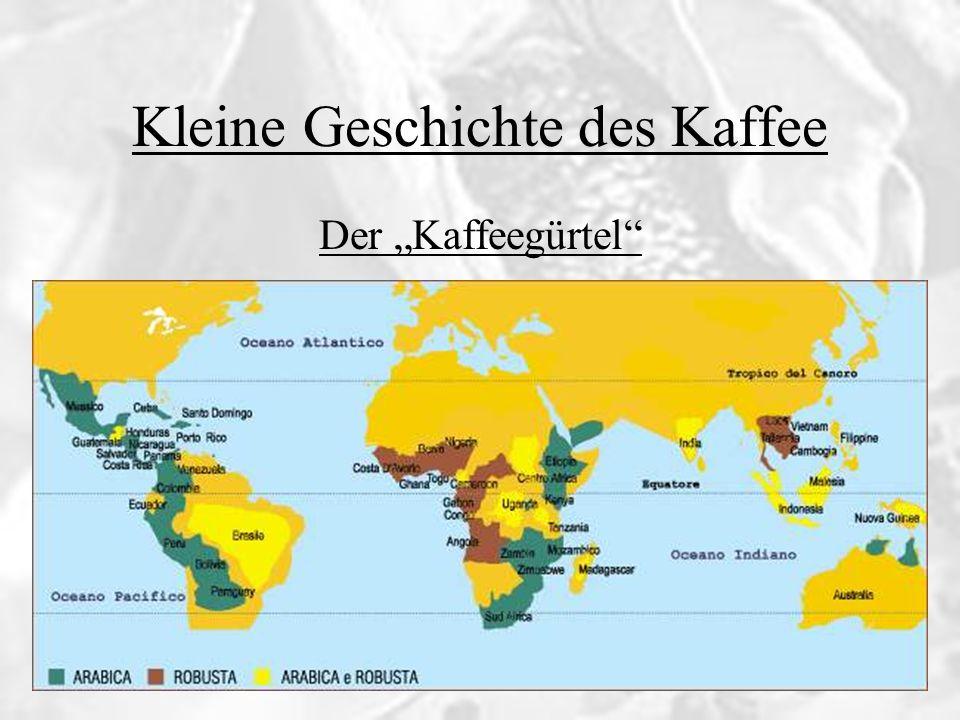 Kleine Geschichte des Kaffee Die Deutschen und der Kaffee Kleine Geschichte des Kaffee 1675 Mitte 18.