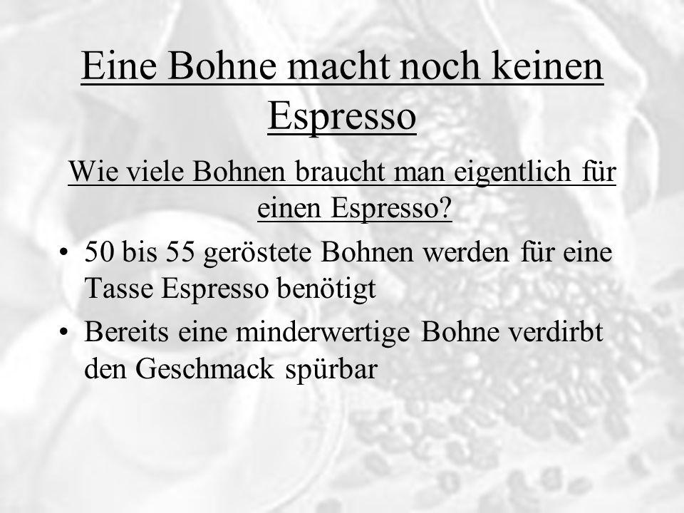 Kaffeegenuß Möglichst kalkarmes Wasser verwenden, am besten kohlensäurefreies Mineralwasser Nur frisches Wasser verwenden.
