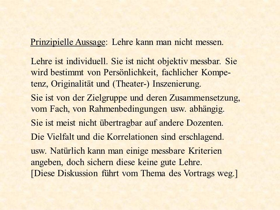 4.Projektstudium Dies war ein Gründungs-Prinzip der Universität Bremen in den 1970-er Jahren.