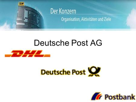 Deutsche Post AG.