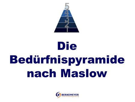 Die Bedürfnispyramide nach Maslow. Information zur Person Maslow Abraham Harold Maslow (* 1. April 1908 in Brooklyn, New York City; † 8. Juni 1970 in.