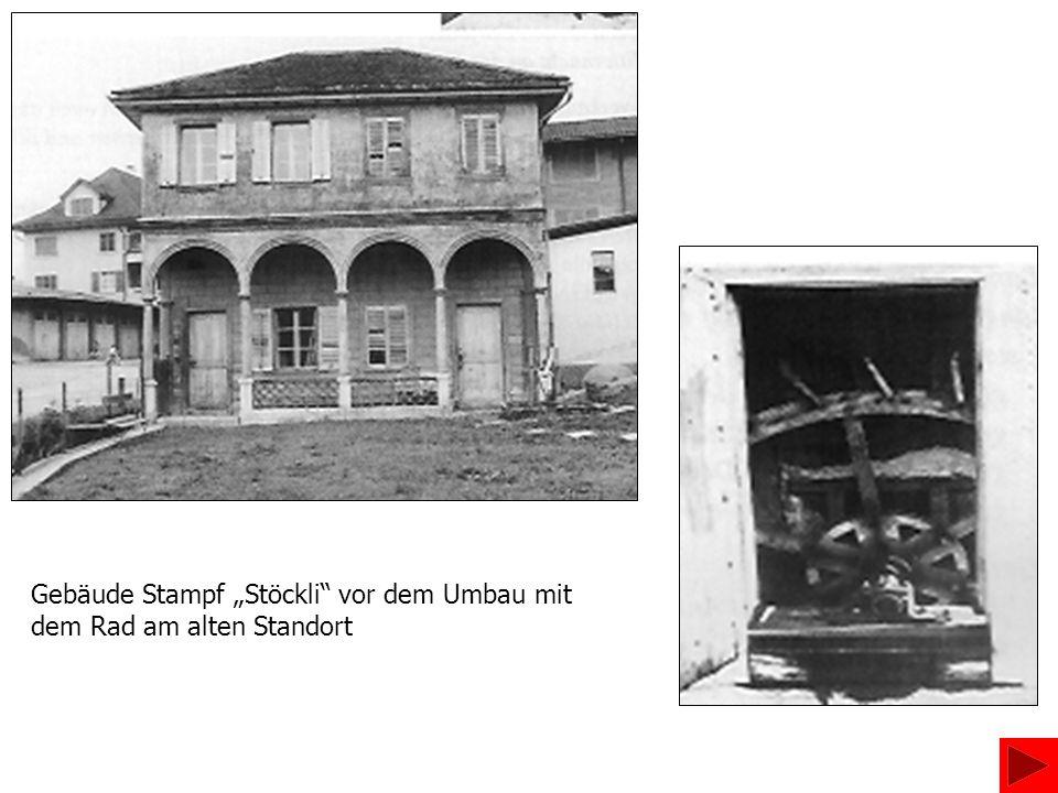 Nachdem der Nachbar, Schreinermeister Hans Stöckli, die Liegenschaft 1974 gekauft hatte, renovierte er das Gebäude 1983/84 stilvoll und baute es zum Alterssitz aus.