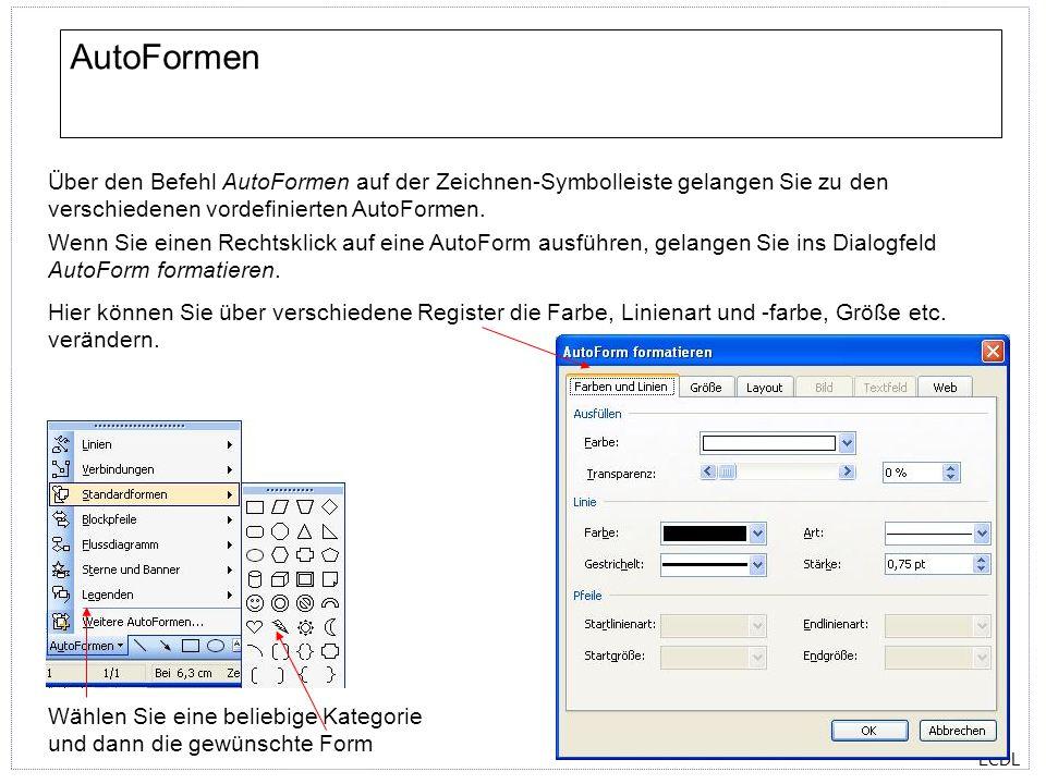 ECDL Silbentrennung Über den Befehl Extras/Sprache/Silbentrennung gelangen Sie zum Dialogfeld Silbentrennung.