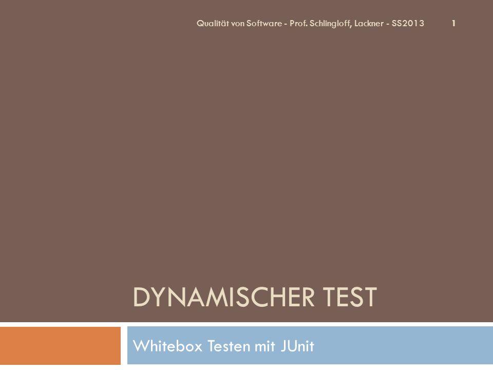Übersicht 1.Grundlagen des Unittests 1. Units 2. Unit Testing 2.