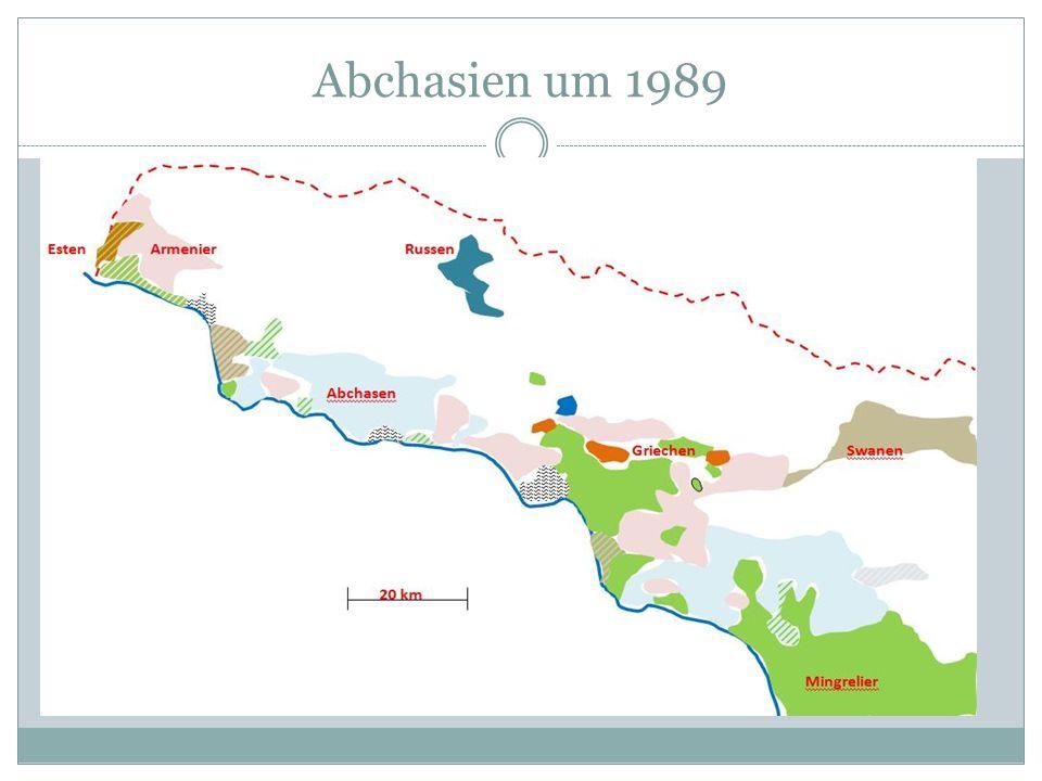 Abchasien zu Beginn des 21. Jh.