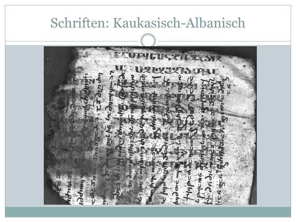 Kaukasisch-Albanisch / Gal. 1,13-15