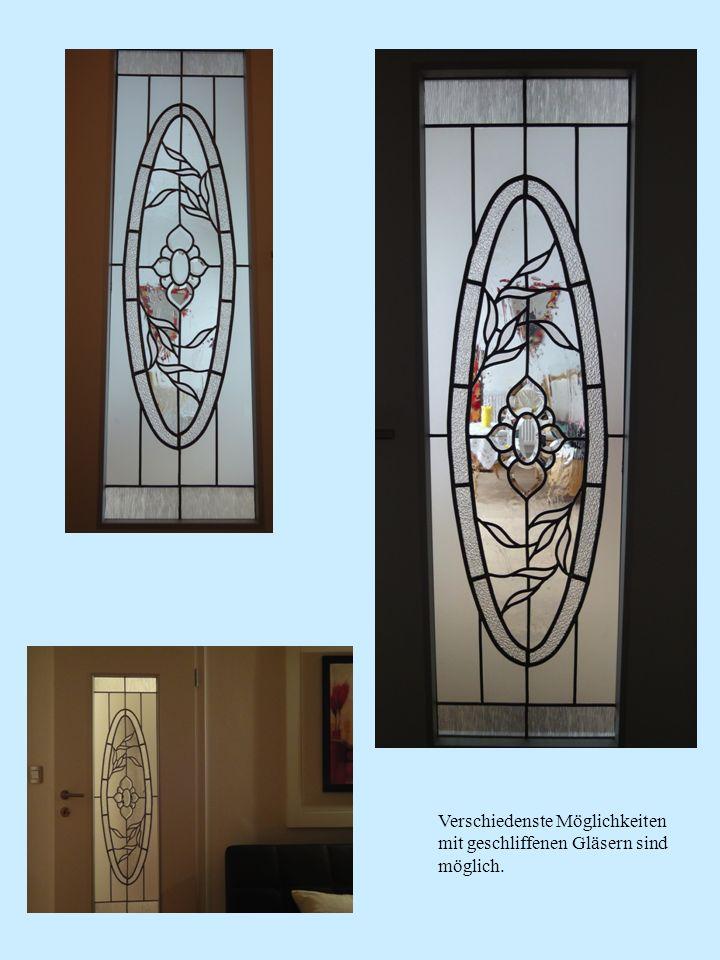 Jugendzimmer Türverglasungen, Entwürfe von den beiden Bewohnerinnen .