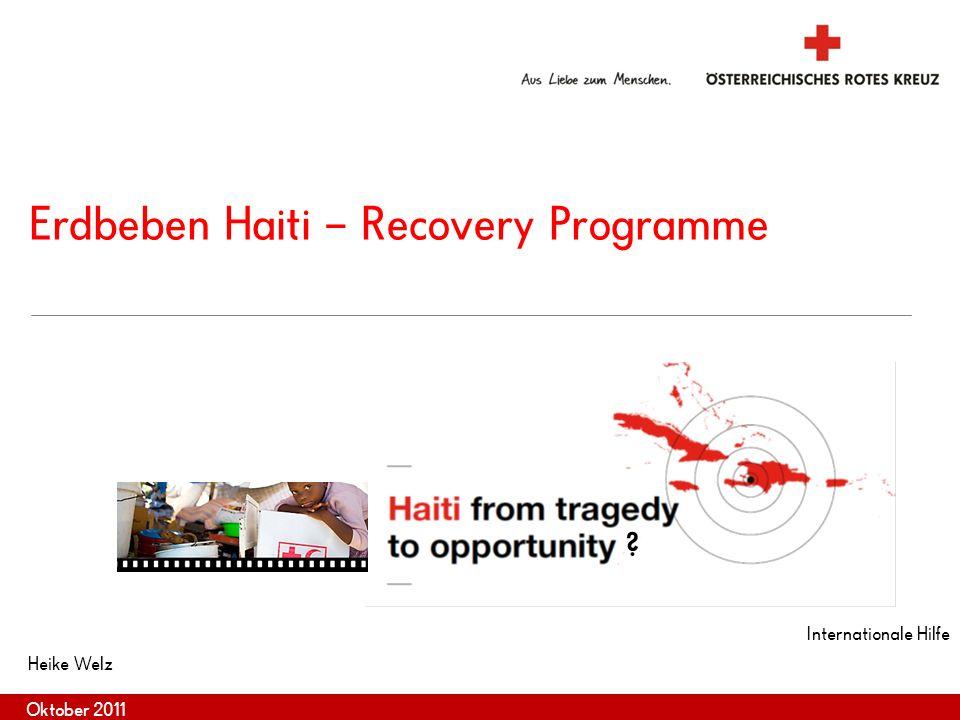 2 Internationale Katastrophenhilfe Rahmenbedingungen Int.