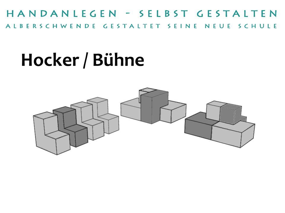 Handwerksbetrieb:Tischlerei Raimund Dür Betreuerin:Gabriele Seidl Hocker / Bühne