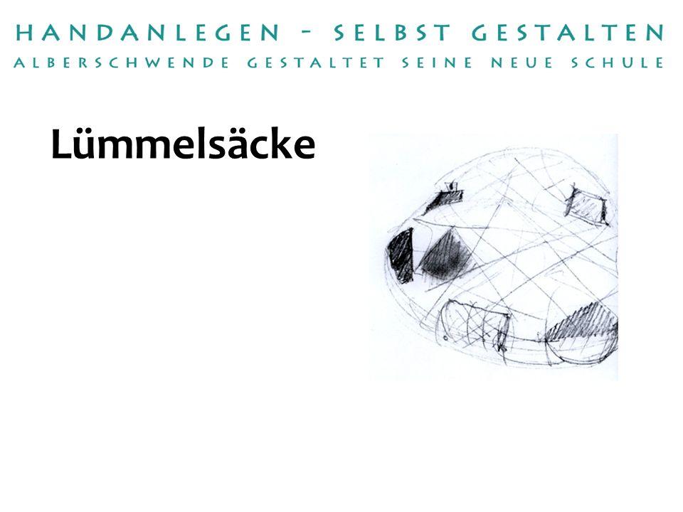 Handwerksbetrieb: Umsetzung: Raumausstattung Bereuter Ronald Bereuter, Gerlinde Barbisch, Rosmarie Winder Betreuerin:Renate Mennel Lümmelsäcke