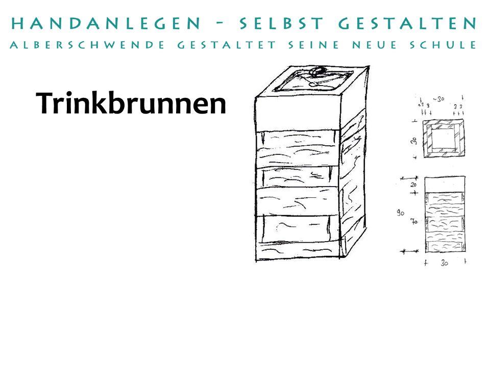 Handwerksbetrieb: Umsetzung: Steinmetz Lenz Martin Winder Betreuerin:Annette Fruhmann Trinkbrunnen