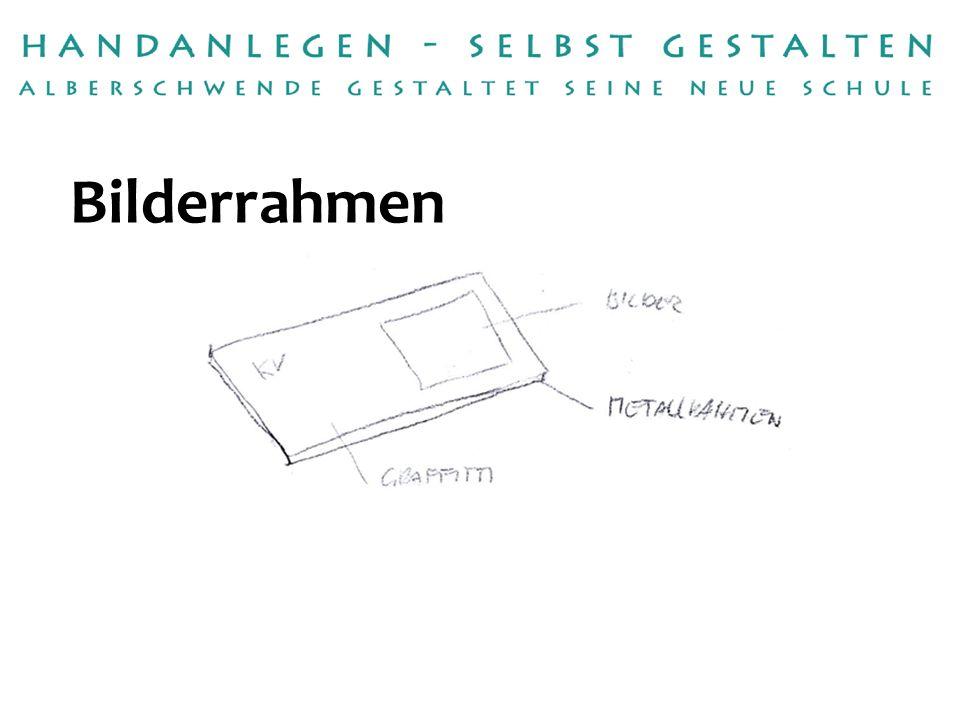 Handwerksbetrieb:fetzcolor / Michael Fetz Betreuerinnen:Petra Raid, Dieter Reichl, Klaus Dünser Bilderrahmen