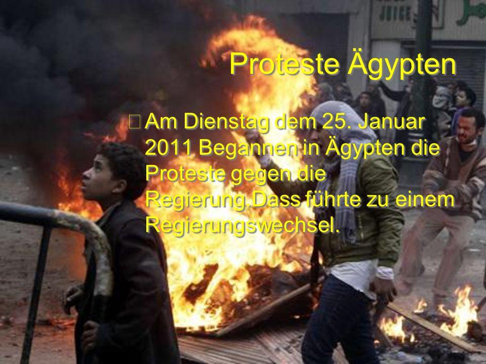 Proteste Ägypten Proteste Ägypten Am Dienstag dem 25.