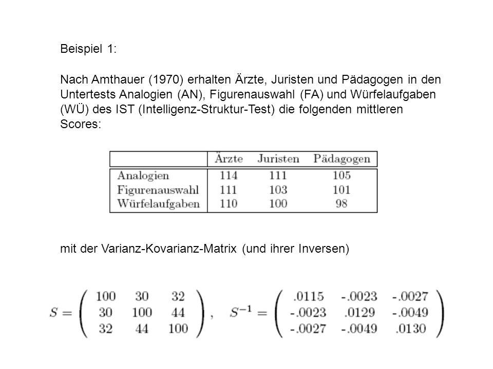 Ein Abiturient hat in diesen Untertests die Scores 108 (AN), 112 (FA) und 101 (WÜ) erzielt.