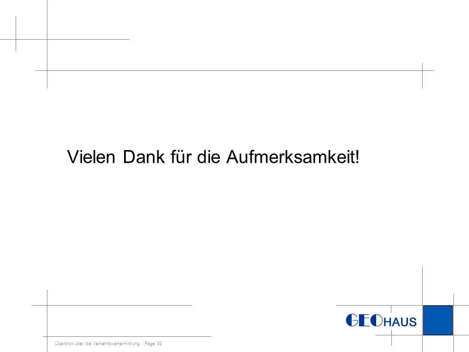 Überblick über die Verkehrswertermittlung | Page 39 Quellen: Vorlesungen der Uni Bonn Prof.