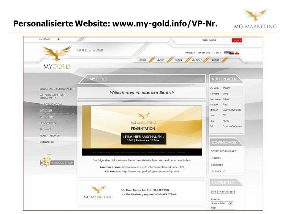 Website: Der interne Bereich = zus.Backoffice Am 15.