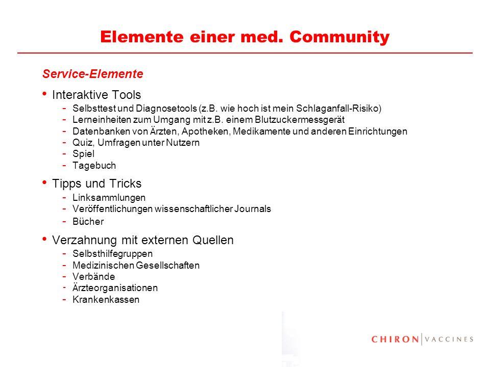 25 Elemente einer med.