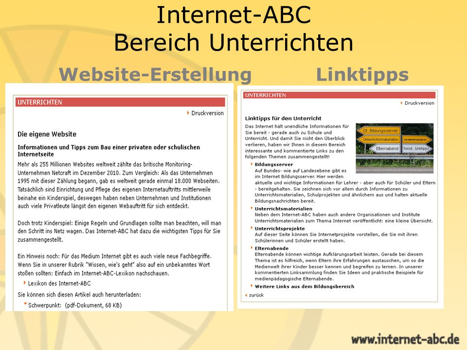 Ausgezeichnet: Das Internet-ABC Das Gemeinschaftsprojekt der Landesmedienanstalten Internet-ABC e.V.