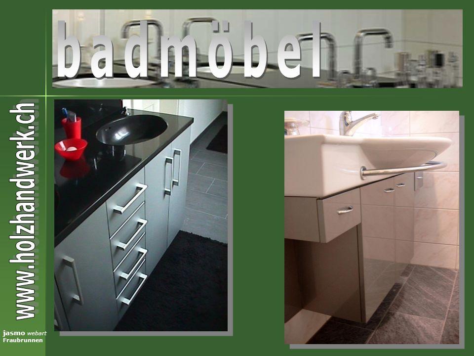 jasmo webart Fraubrunnen Zimmerdecke, Eckmöbel, Wandtäfer … alles aufeinander abgestimmt