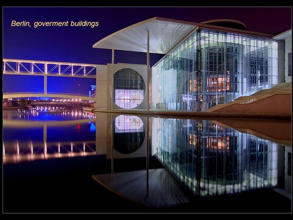 Berlin, goverment buildings