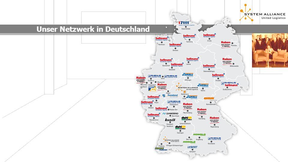 Unser Netzwerk in Europa SYSTEMPLUS Gesellschafter: Starke Partner CH: Streck AG ES: Transportes Ochoa S.A.