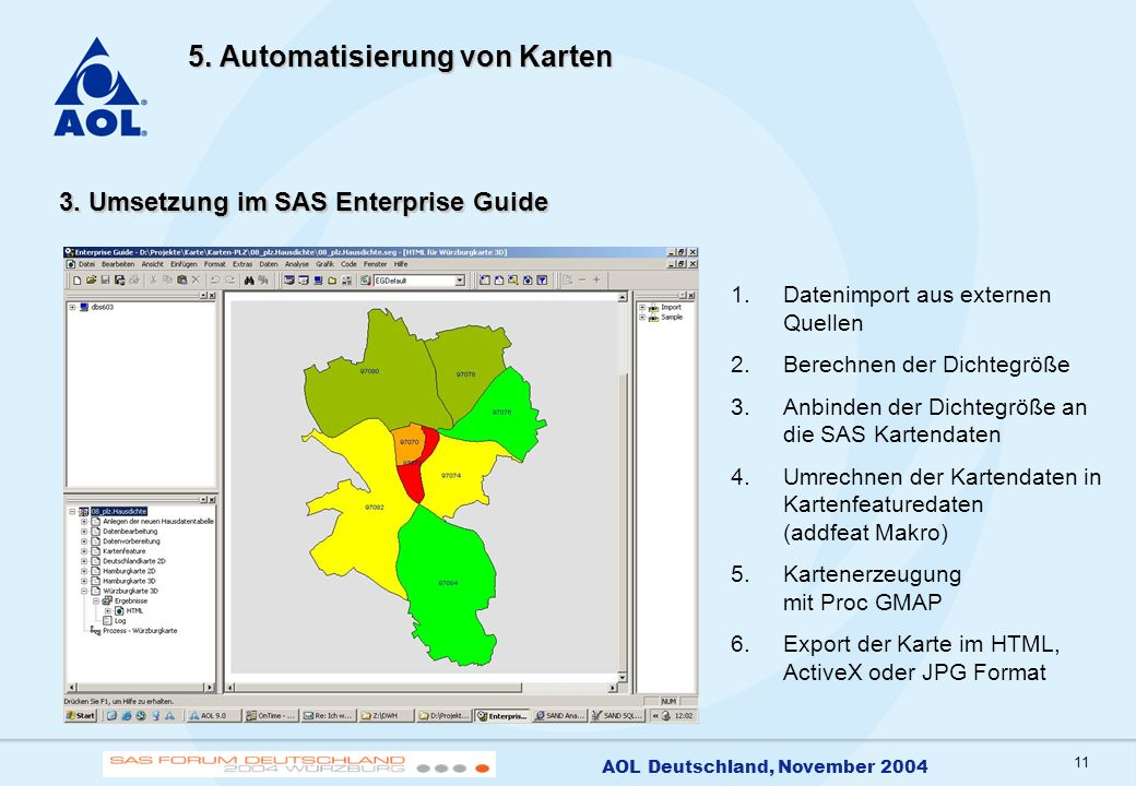 12 AOL Deutschland, November 2004 6.