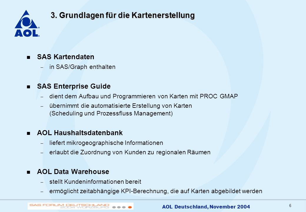 7 AOL Deutschland, November 2004 4.
