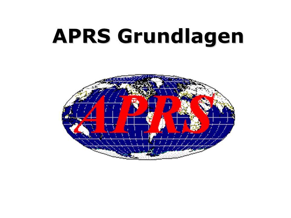 Agenda Was ist APRS und wozu kann es verwendet werden.