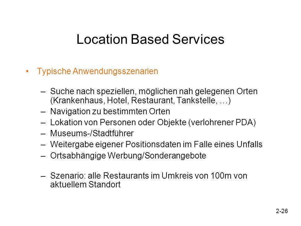 2-27 Location Based Services Typisches Vorgehen