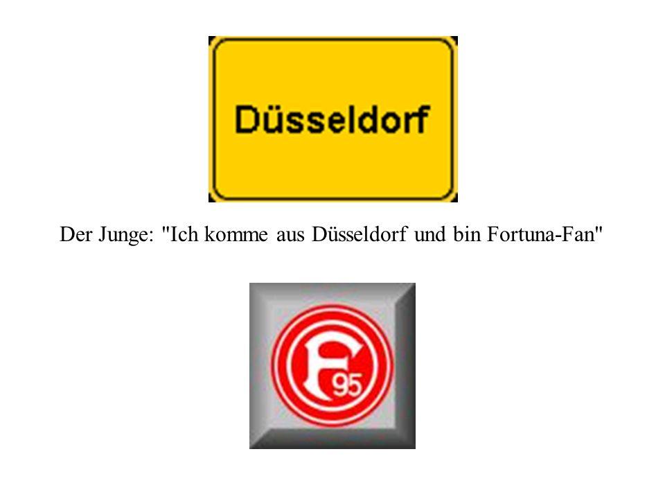 Der Journalist notiert: Widderlije Rotzblag us Düsseldorf erwürch hilflosen Welpen!