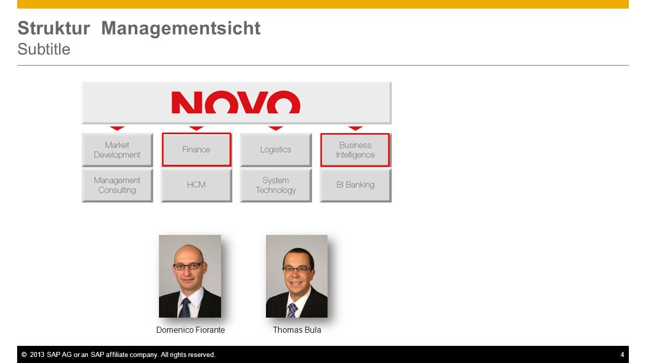©2013 SAP AG or an SAP affiliate company. All rights reserved.5 Unternehmenswerte