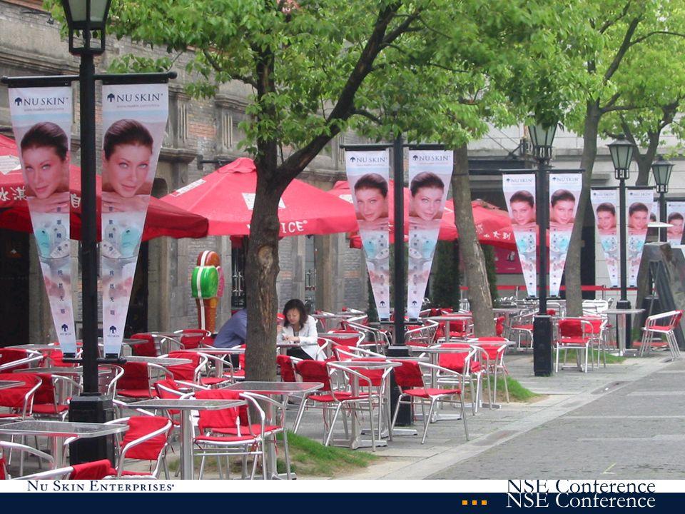 Entwicklungsstand der Geschäftsmöglichkeit in China 25.000 Preferred Customers 1.600 Sales Representatives (in der Qualifikation) (angestelltes Verkaufspersonal) 1.000 Unternehmensangestellte ständige Schulungs- und Entwicklungsaktivitäten