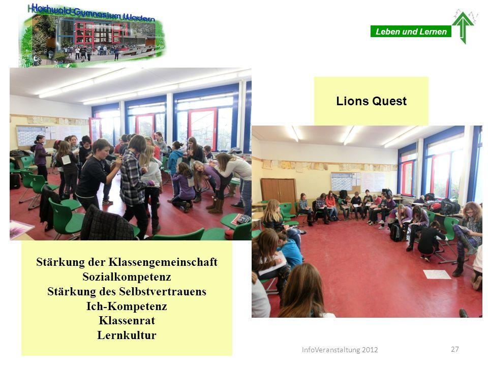 Leben und Lernen Schreib-Lese-Zentrum 28InfoVeranstaltung 2012