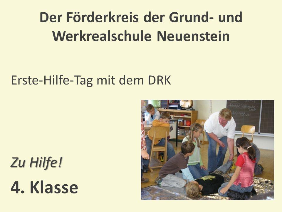 Der Förderkreis der Grund- und Werkrealschule Neuenstein Projekt mit einem Theaterpädagogen Da schau her.